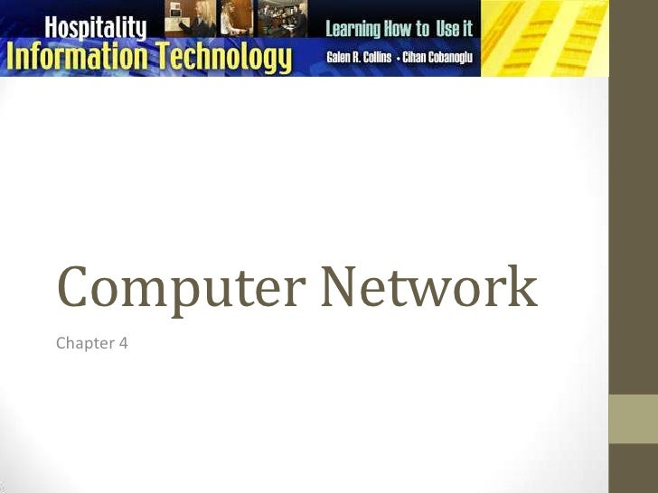 Computer Network<br />Chapter 4<br />
