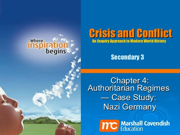 Crisis and Conflict Chapter 4: Authoritarian Regimes  —  Case Study:  Nazi Germany An Enquiry Approach to Modern World His...