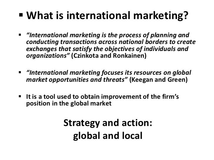 international business case chapter 5 International business: part five- the strategy and structure of international business chapter 13: the strategy of international business opening case.