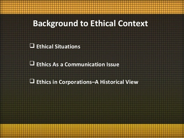 Ethics and Ethical Behavior in Corporate Culture