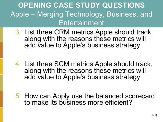 formulate a strategy describing how apple can use efficiency it metrics to improve business Performance management strategies how to create and deploy effective metrics  technology to monitor the execution of business strategy and help organizations achieve their goals as figure 1 shows, performance management is a four-step virtuous cycle that involves creating  performance management strategies metrics,,,, ,,, /,,,,.