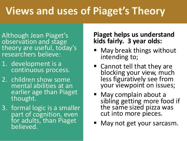 Observations on piagets theory