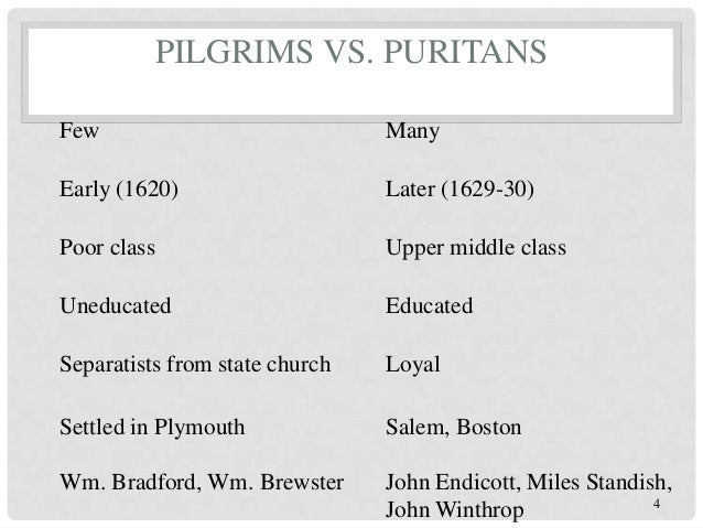 puritans vs quakers The issues between quakers and puritans began long before the move to north  america, with the same issues arising in the disputes both in old and new.