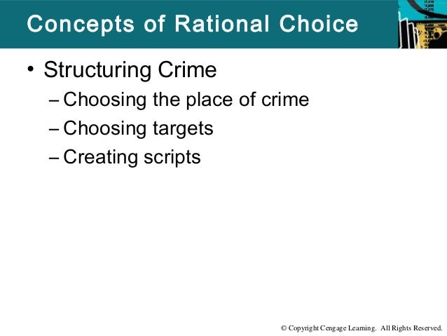 rational choice theory latent trait Psychological/ trait theories of crime  their theory, one researcher  latent delinquency is when the same state of mind.