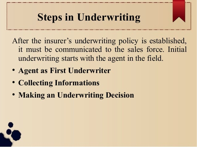 Chapter 4 Insurance Company Operations