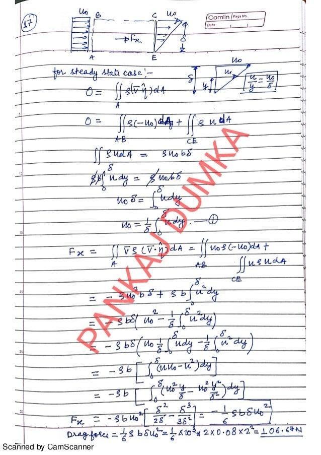 fm white fluid mechanics 7th edition solution manual
