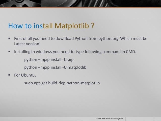 install matplotlib pip ubuntu 16.04