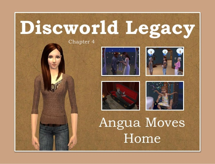 Discworld Legacy    Chapter 4                Angua Moves                   Home