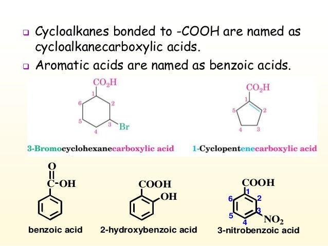 Chapter 4 Carboxylic Acid