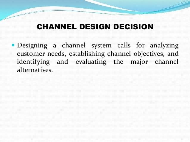 marketing channel essay
