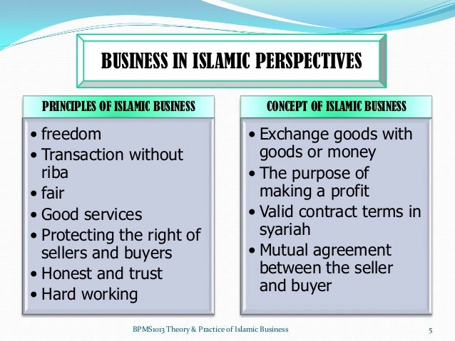 international business from islamic perspective Islamic entrepreneurship has become  the specific roles of these institutions from an islamic perspective are  thunderbird international business.