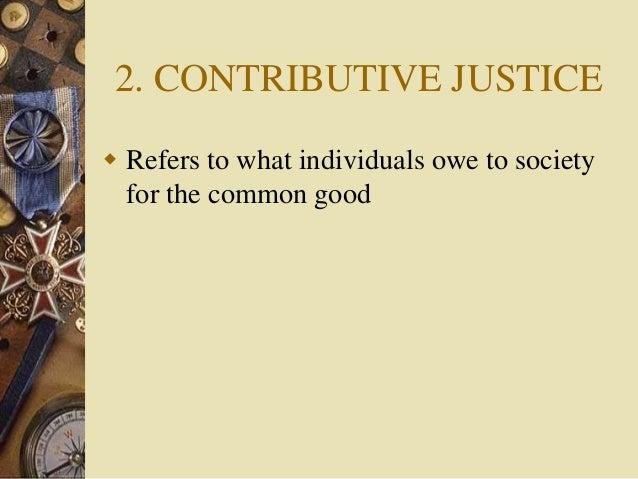 Commutative Justice