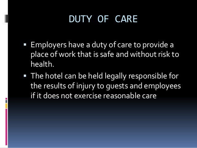 1 4 identify situations in which the responsibility for health and safety lies with the individual The right to take risks: service users' views of risk in and their individual rights in discussions about risk and safety questions of responsibility.