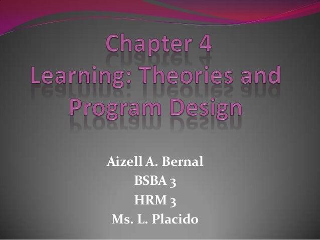 Aizell A. Bernal BSBA 3 HRM 3 Ms. L. Placido