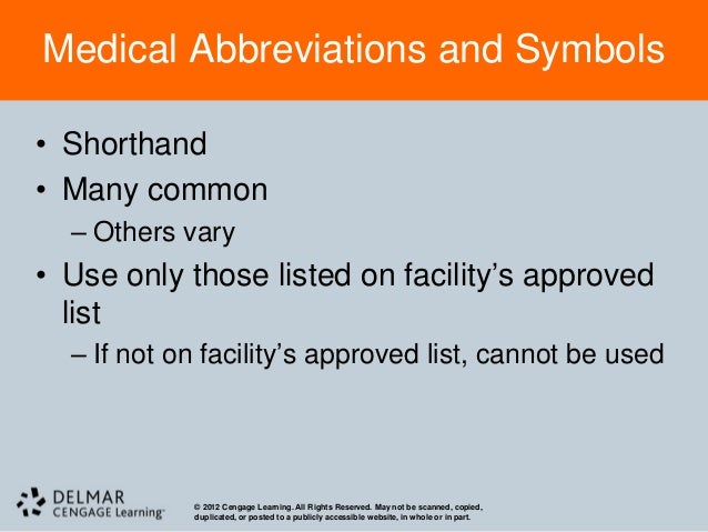 100+ Not Use Medical Abbreviations List – yasminroohi