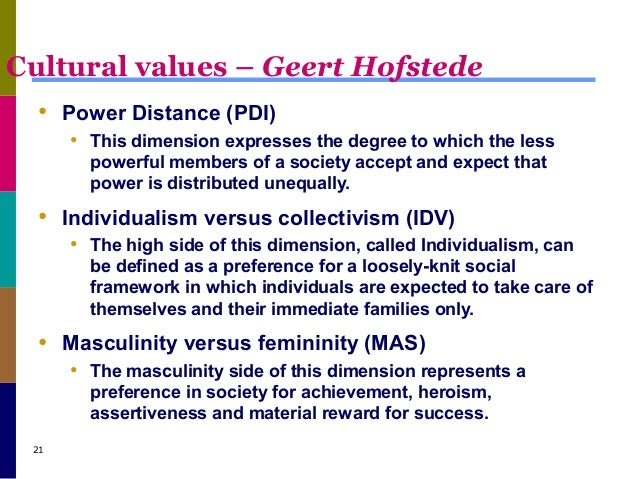 geert hofstede cultural dimension and motivation Hofstede's dimensions of culture  10 minutes with geert hofstede  10 minutes with 76,140 views 11:28 hofstede's cultural dimension - duration:.