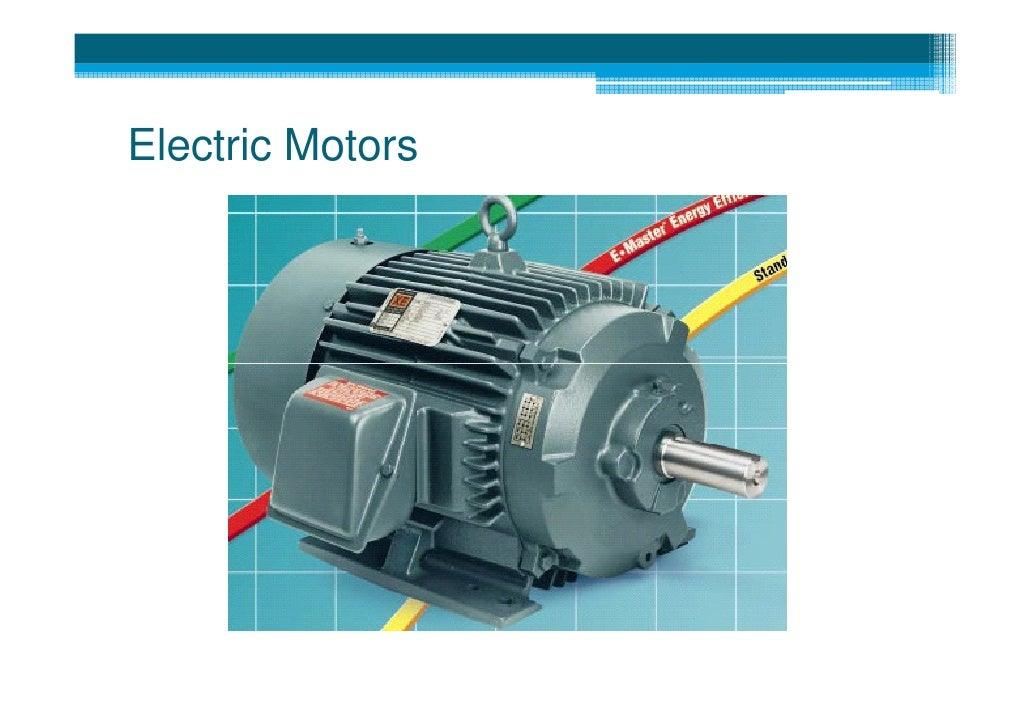 4 Energy Management In Water Supply Systems Motors