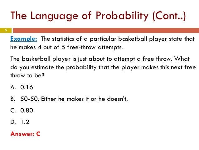 Methods of assigning probability. The uniform probability model.