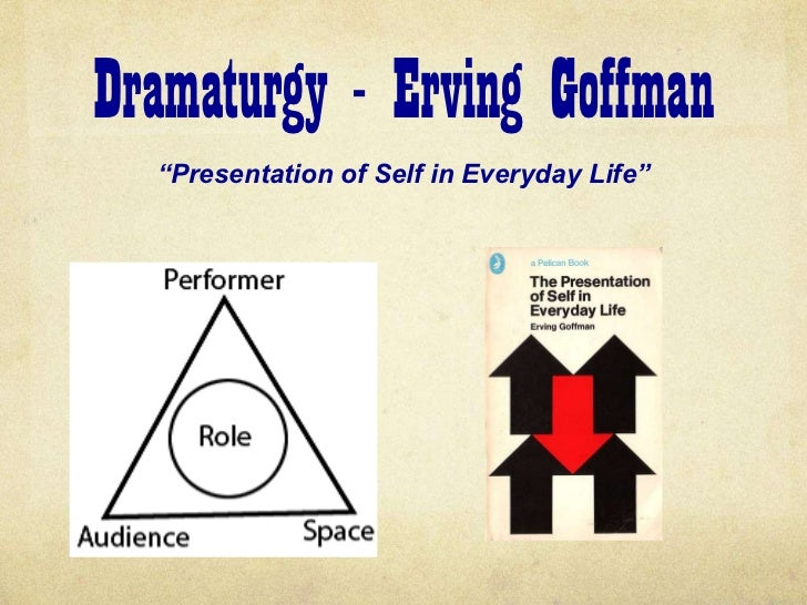 the presentation of self in everyday Erving goffman's the presentation of self in everyday life takes a dramaturgical ,theatre like, approach to social interactions.