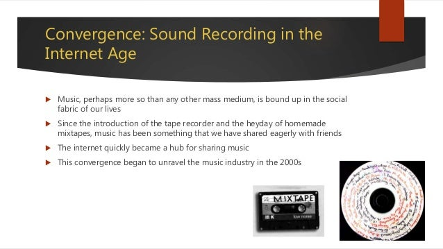 Chapter 4 Sound Recording and Popular Music