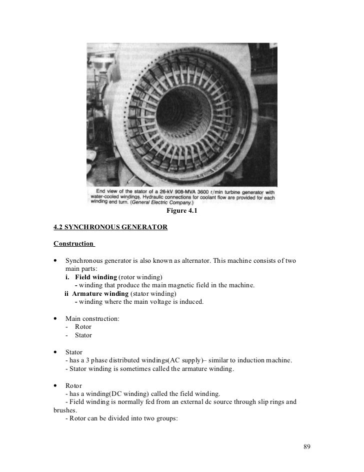Chapter 4 synchronous machine Slide 2