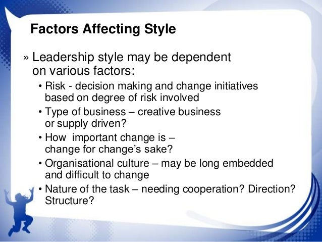 External Factors Affecting Leadership