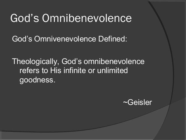 Omnibenevolent definition