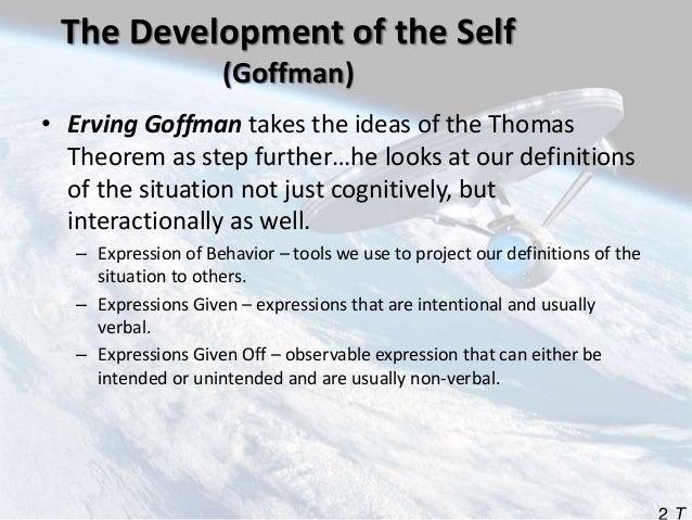the thomas theorem states that