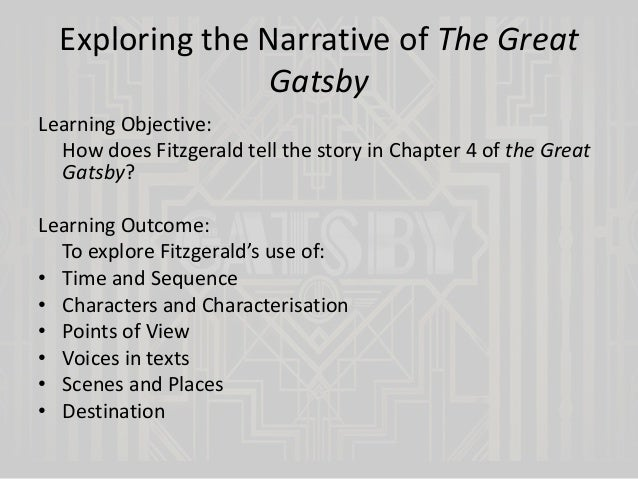 The Great Gatsby - Chapters 4 and 5