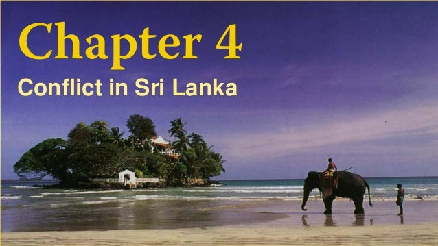 Chapter 4 Conflict in Sri Lanka