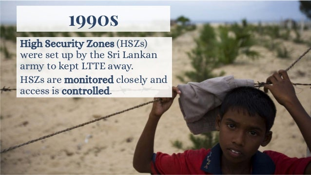 Ongoing fighting in their hometowns (e.g. Jaffna) added to the number of Tamils fleeing.