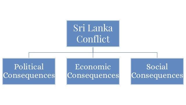 Sri Lanka Conflict Political Consequences Economic Consequences Social Consequences