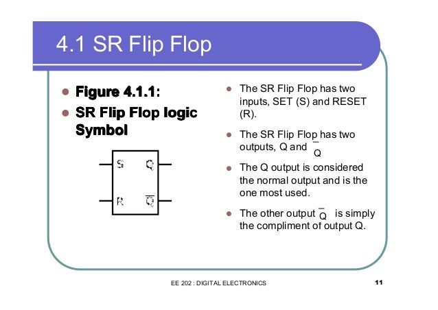 flip flop logic Buy electronics & electrical projects in india  latches and flip flops are the basic elements and these  the output will always reflect the logic level which is.