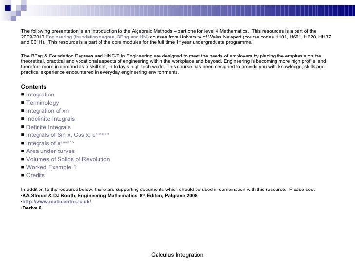 CHAPTER 4 INTEGRATION PDF