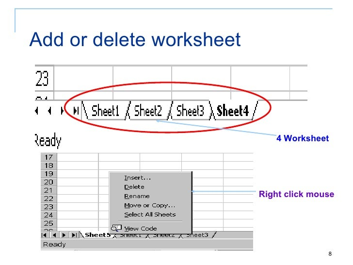Tid Chapter 4 Introduction To Spreadsheetexcel