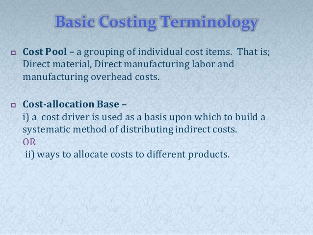 chapter 4 job costing Chapter 4 job order costing cost object is a job or batch when is it most appropriate actual, normal, and standard costing how does abc fit in with job order costing.