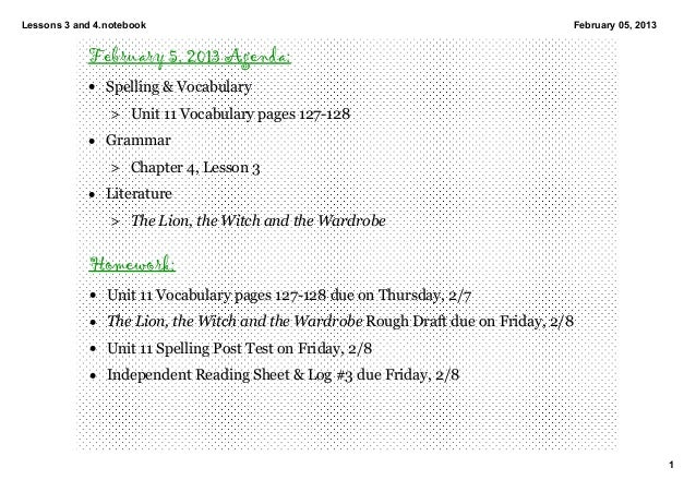 Lessons3and4.notebook                                                          February05,2013            February 5,...