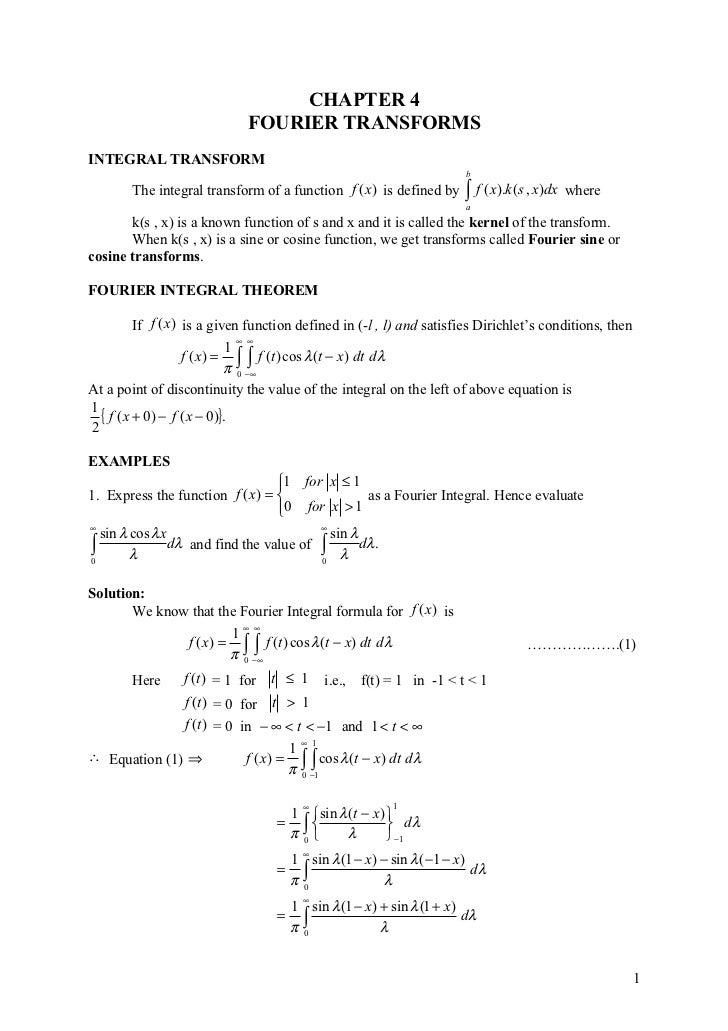 Chapter 4 Maths 3