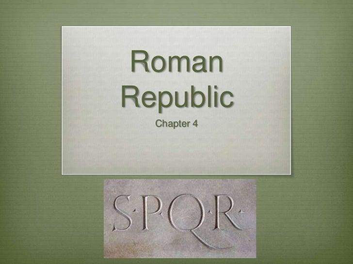 RomanRepublic  Chapter 4