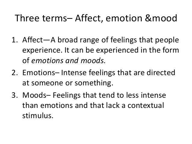 Chapter 4 ob emotions & moods