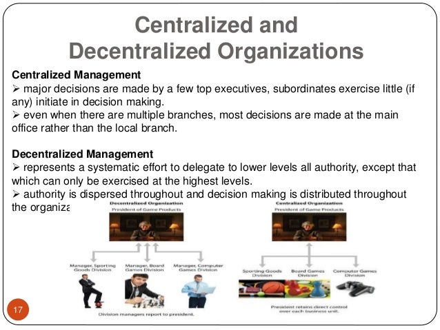 starbucks operates as a centralized versus decentralized Starbucks does not operate under a franchise system however, they do license   these licensed stores are still controlled by starbucks corporation and must   [vs decentralized organizational structure] | centralized vs decentralized.