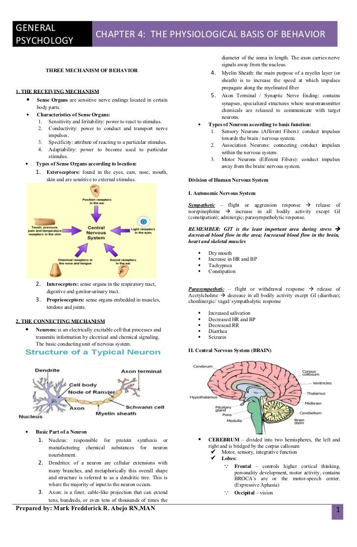 chapter 4 in gen psy Study flashcards on psychology 101 chapter 4 (for exam 2) at cramcom quickly memorize the terms, phrases and much more cramcom makes it easy to get the grade you.