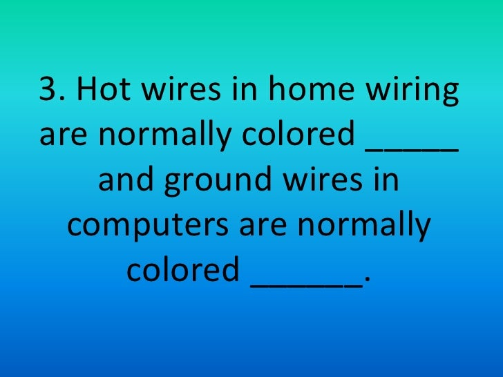 Home Wiring Ground Color - free download wiring diagrams schematics