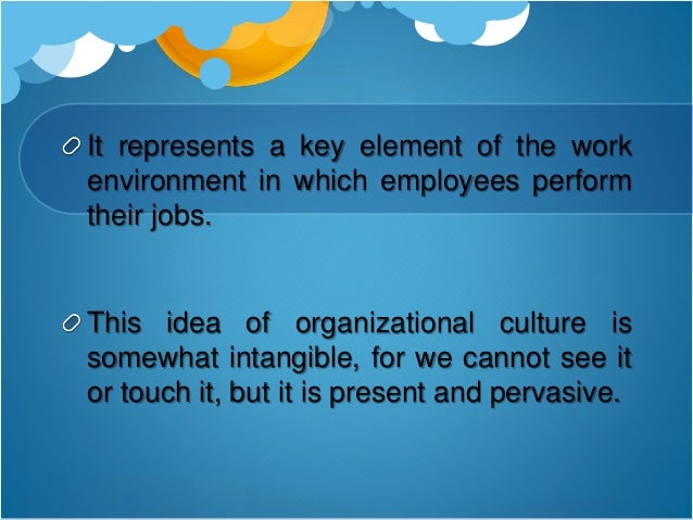 """culture is also important inside an organization If your goal is to intentionally shape the actions and interactions of employees, you know the importance of creating a """"values-based"""" culture however, you also know how difficult it is to ."""