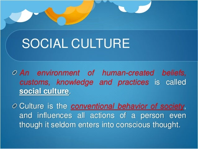 social system and organization culture Impact of organizational culture on employee performance  and ability of system culture of an organization have been identified recommendation : the strong culture  westwood and crawford, 2005) the social interaction of workplace outside organization considers well for some groups.