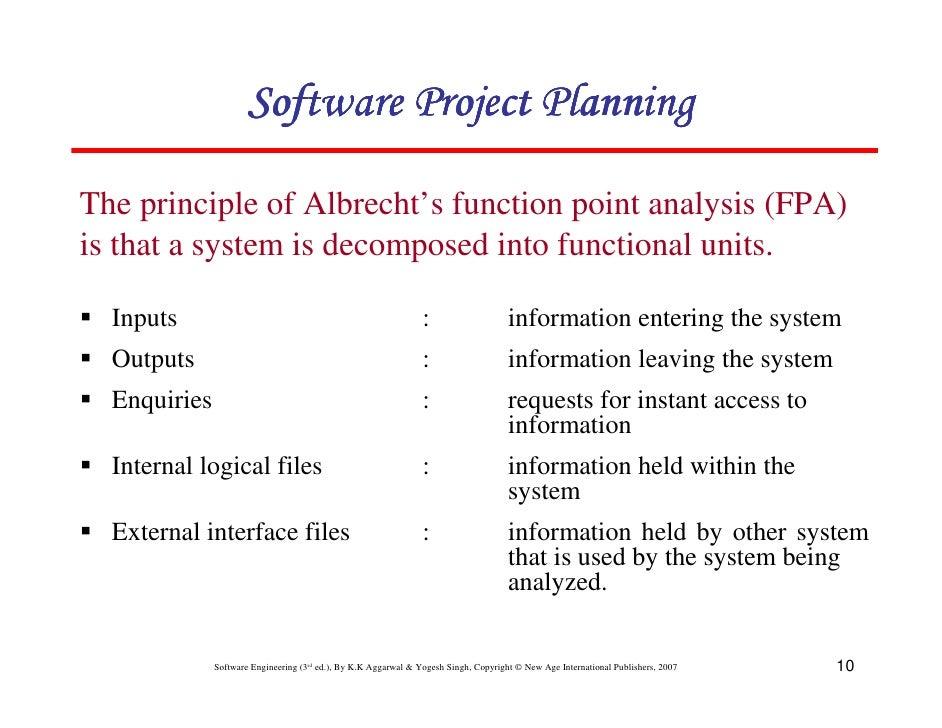 Pdf analysis function point