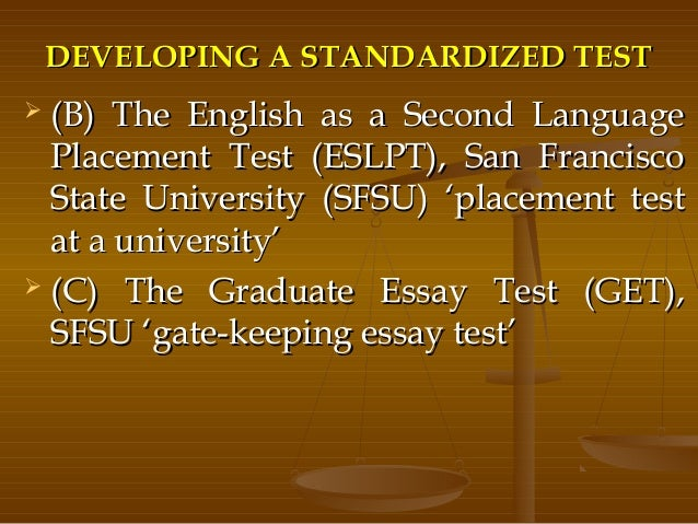 problems with standardized testing essay Problems with standardized testing essay lainey sullivan evaluation paper standardized testing standardized tests are a common and popular way.