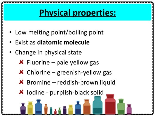 Chemical Properties Of Fluorine Examples