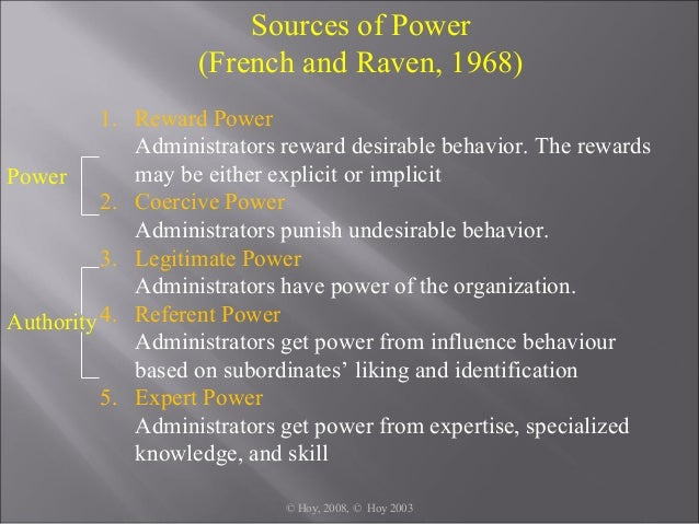 french and raven 5 sources of power pdf