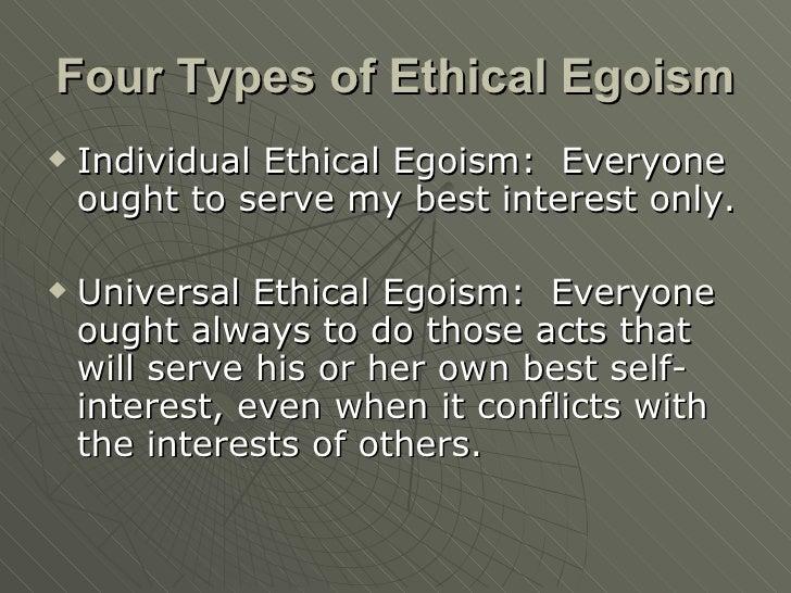 universal ethical egoism Universal ethical egoism - case study [let's draw stuff] mocha fantasy  egoism and altruism: arcadia university us275 scientific ethics - duration: 11:31 john r hoffman 4,689 views.